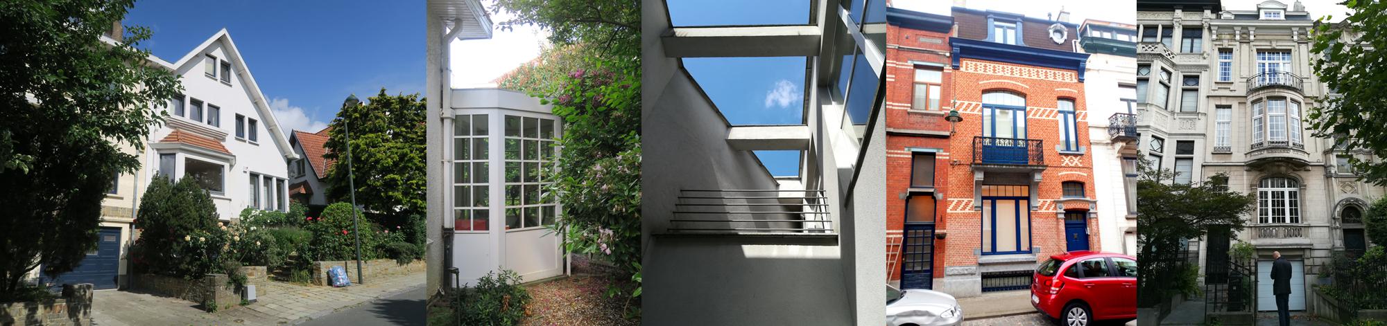 Architecte Uccle maison permis d'urbanisme